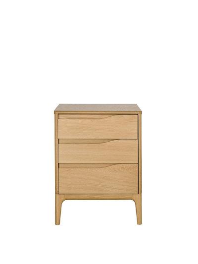 Image of Rimini 3 Drawer Bedside Cabinet