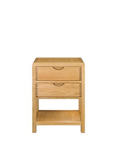 Image of Bosco 2 Drawer Bedside Cabinet